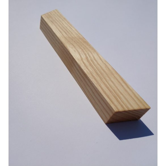 Oiled ash solid wood furniture handle