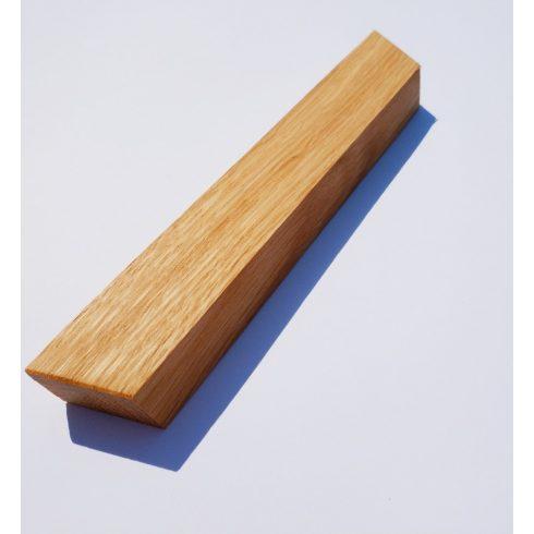 Fa bútorfogantyú, Olajozott Tölgy, 64, 96 és 128 mm furattávval kialakítva