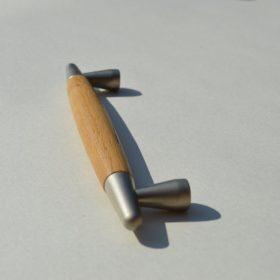 Metal-Wood handles